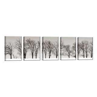 Ready2HangArt 'Winter Trees' by Bartlett Hayes