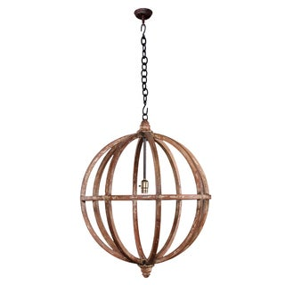 Bramble Co. Infinity Smackle Crackle Large Chandelier