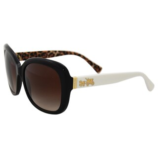 Coach HC8158 533613 - Black Ivory Wild Beast/Brown by Coach for Women - 58-17-135 mm Sunglasses