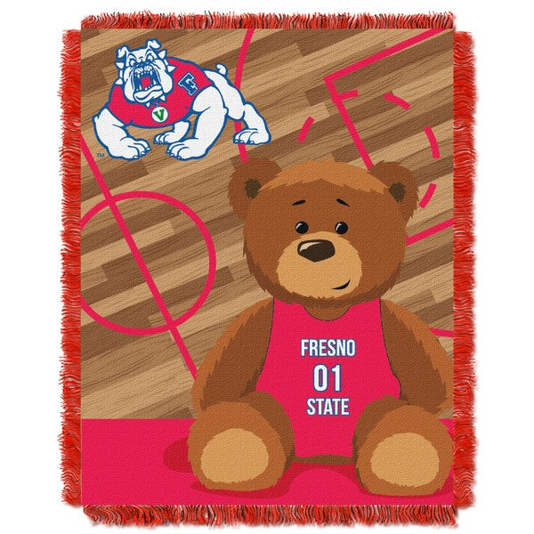 COL 044 Fresno State Baby Blanket