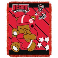 COL 044 N.C. State Multicolor Acrylic Baby Blanket