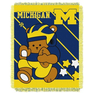COL 044 Michigan Multicolor Acrylic Baby Blanket