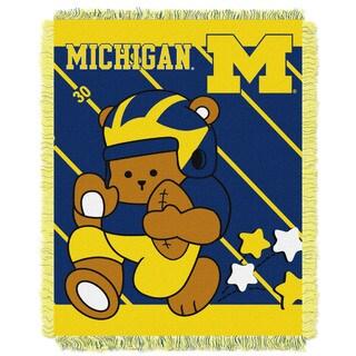 COL 044 Michigan Multicolor Acrylic Baby Blanket