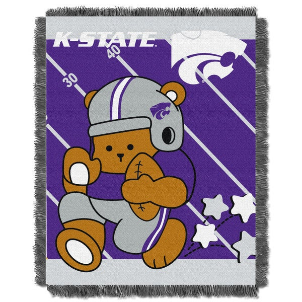 COL 044 Kansas State Baby Acrylic Blanket
