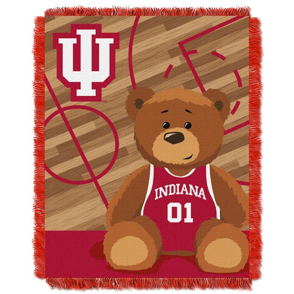 COL 044 Indiana Official Collegiate Baby Blanket