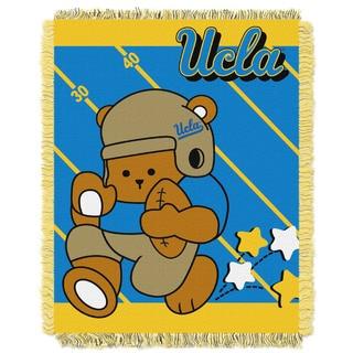 COL 044 36-Inch x 46-Inch UCLA Baby Woven Acrylic Throw