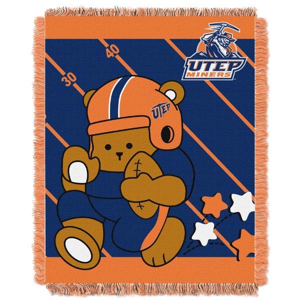 COL 044 Texas El Paso Multicolor Acrylic Baby Blanket