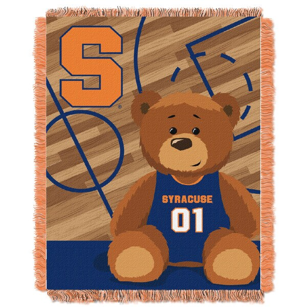Syracuse University Multicolored Acrylic Baby Blanket