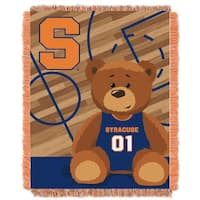 Syracuse University Multicolored Acrylic Baby Blanket