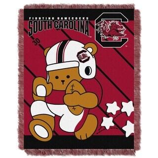 COL 044 South Carolina Fighting Gamecocks Acrylic Baby Blanket