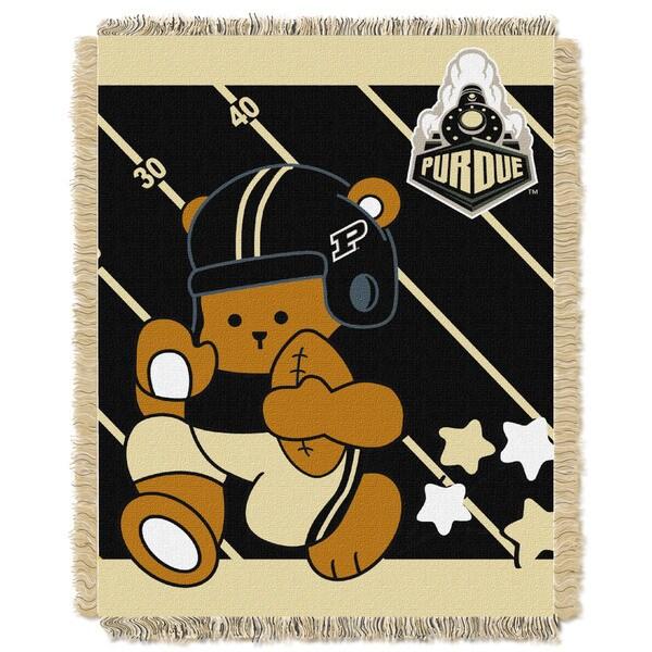 COL 044 Purdue Baby Blanket
