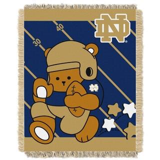Notre Dame Baby Blanket