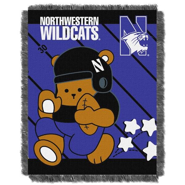 COL 044 Northwestern Baby Blanket