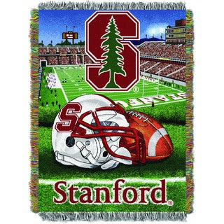 Stanford University Polyester Tapestry Throw