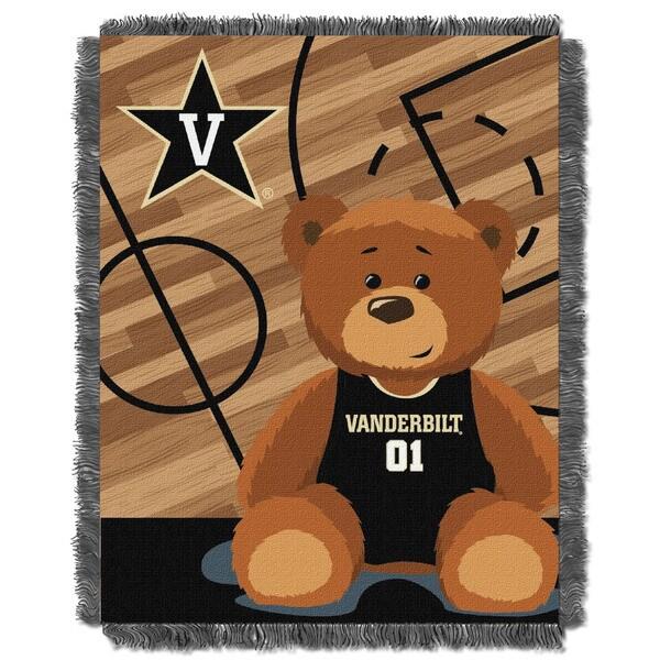 COL 044 Vanderbilt Offical Collegiate Baby Blanket