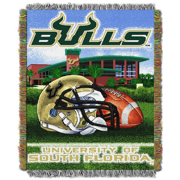 COL 051 South Florida HFA Polyester Tapestry Throw