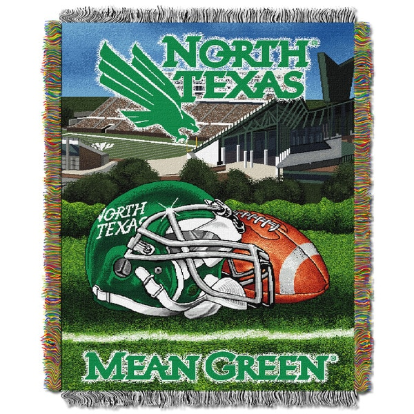 COL 051 North Texas Official Collegiate Homefield Advantage Throw