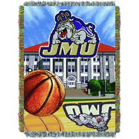 James Madison Univsersity Polyester Tapestry Throw