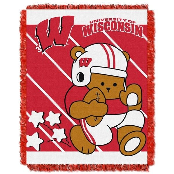 COL 044 University of Wisconsin Baby Blanket