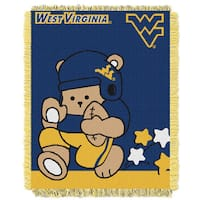 West Virginia Baby Blanket