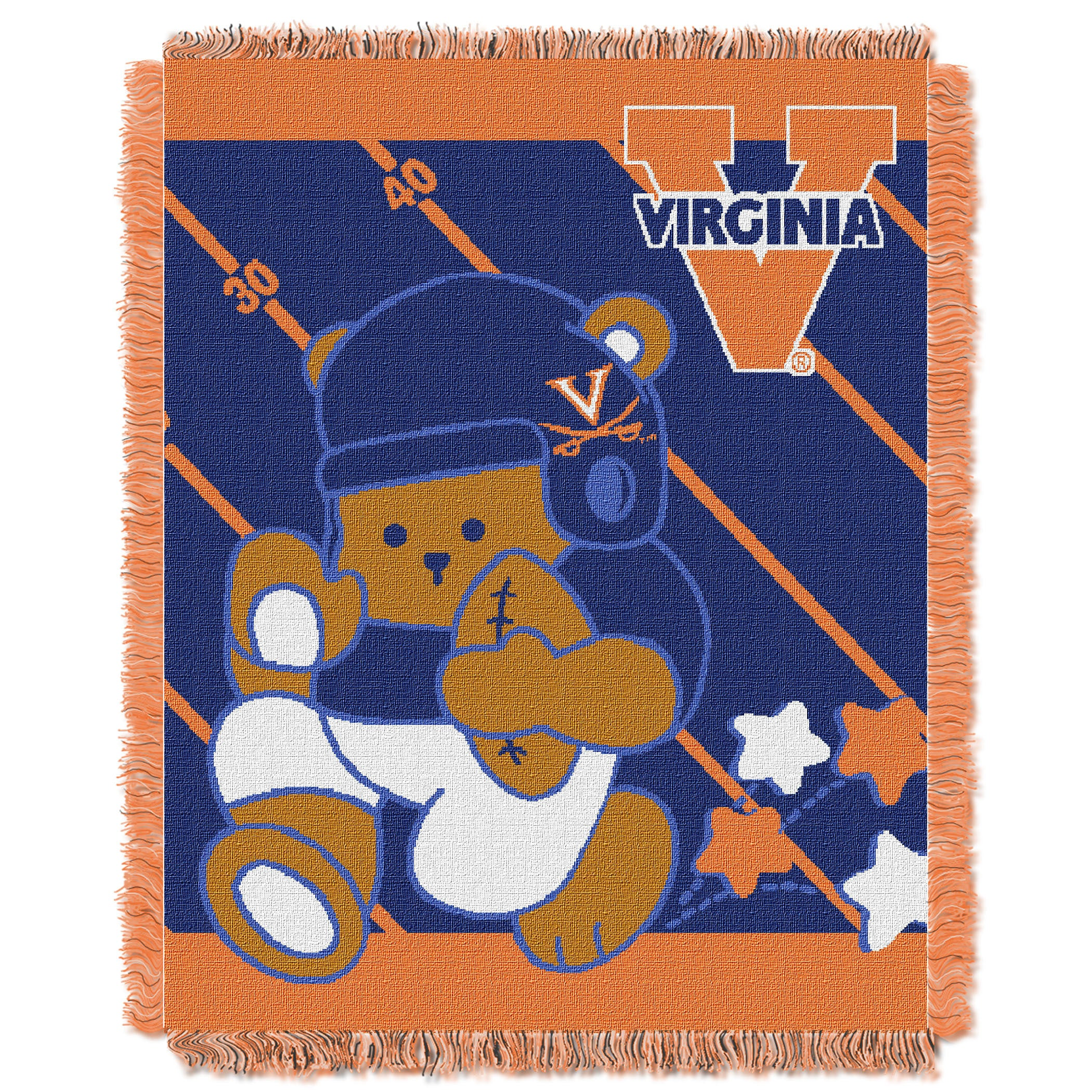 Norwesco COL 044 Virginia Baby Blanket (Multi Colored) (A...