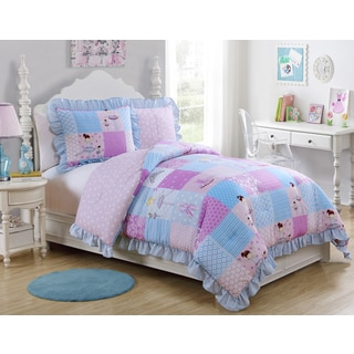 VCNY Tutu Cute 3-piece Comforter Set