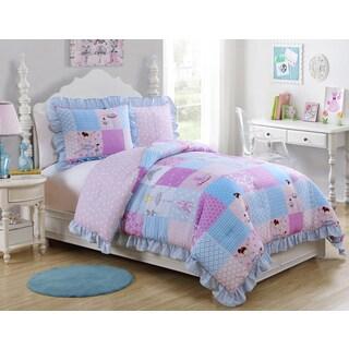 VCNY Tutu Cute 3-piece Comforter Set