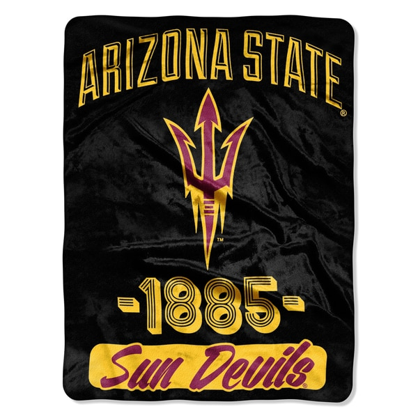 COL 05902 Arizona State Varsity Micro Raschel Throw