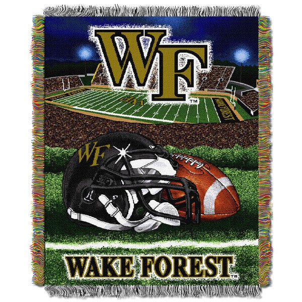 COL 051 Wake Forest HFA Tapestry Throw