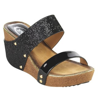 Italina Women's Platform Wedge Sandals