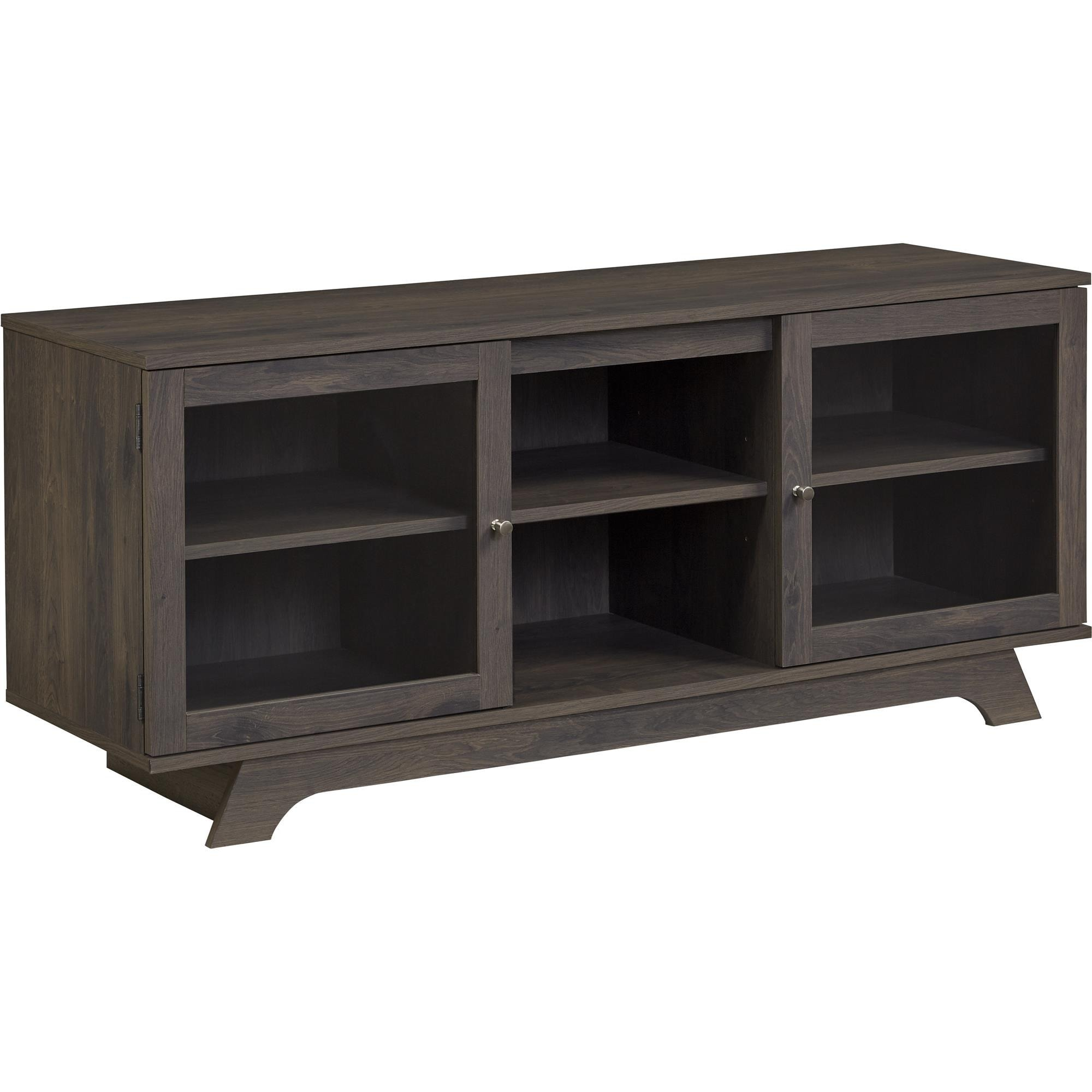 the best attitude 1efde ca2b6 Ameriwood Home Englewood Weathered Oak 55-inch TV Stand