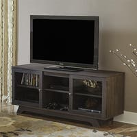 Ameriwood Home Englewood Weathered Oak 55-inch TV Stand