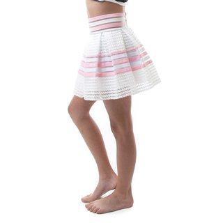 Soho Kids Girls High Waist Zip-up Back Pleated Skirts for Summer/ Autumn