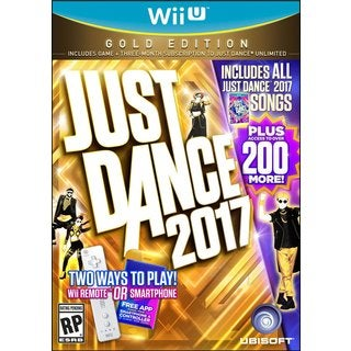 JUST DANCE 2017 GOLD EDITION - Wii U