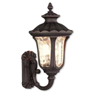 Livex Lighting Oxford Imperial Bronze 3-light Outdoor Wall Lantern