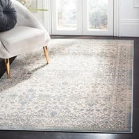 Safavieh Brilliance Vintage Cream/ Black Distressed Rug - 5' 1 x 7' 6