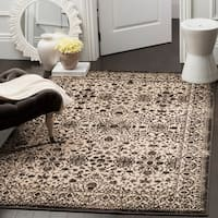 Safavieh Brilliance Vintage Cream/ Black Distressed Rug - 8' x 10'
