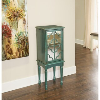 Powell Candice Teal Jewelry Armoire