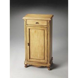 Butler Loomis Brown MDF, Wood Decorative Door Chest - Honey Brown