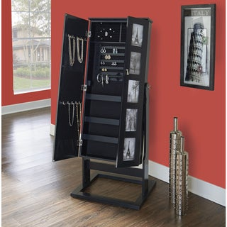 Powell Jasper Black Photo Armoire