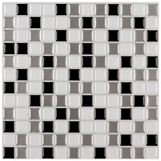 Peel-and-Stick Mosaic Tiles (Pack of 6)