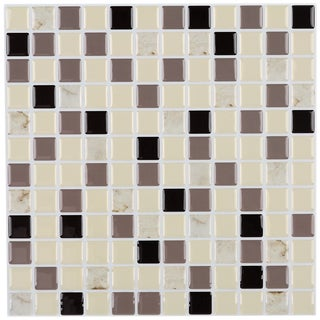 Peel and Stick 6-square foot Mosaic Tiles (Pack of 6)