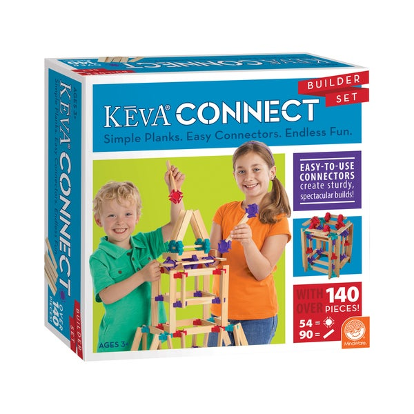 KEVA Connect Multi-color Builder Set
