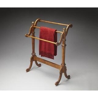 Butler Newhouse Vintage Oak Blanket Stand