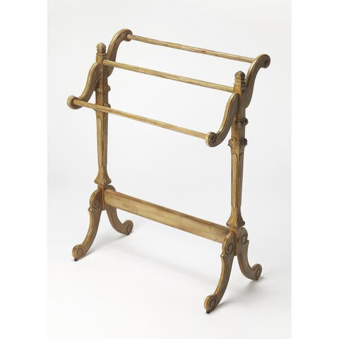 Butler Newhouse Driftwood Blanket Stand