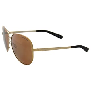 Michael Kors MK 5004 10042T Chelsea - Gold/Gold Polarized by Michael Kors for Women - 59-13-135 mm Sunglasses