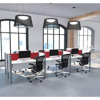 Bestar Pro-Biz Six workstation in White with TackBoards https://ak1.ostkcdn.com/images/products/12040503/P18911604.jpg?impolicy=medium