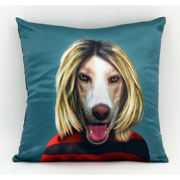 Empire Art Pets Rock Grunge Throw Pillow