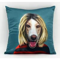 Empire Art Pets Rock Grunge Throw Pillow