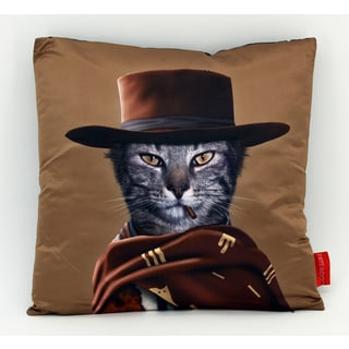 Empire Art Pets Rock Western Throw Pillow 18-inch